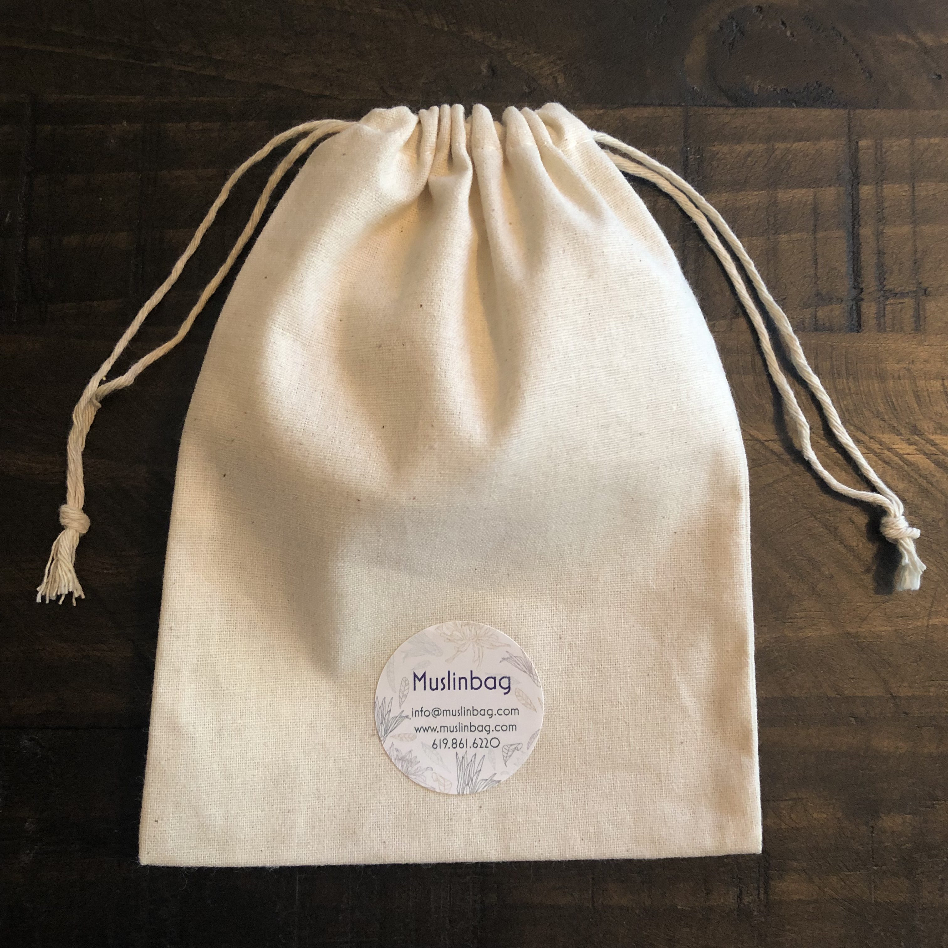 Cotton Muslin Drawstring Bags Made In Usa Worldwide